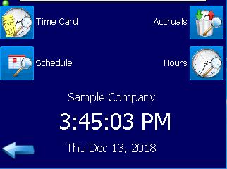 Model 900 Fingerprint Time Clock